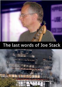 The last words of Joe Stack