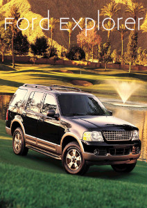 Business News Ford Explorer