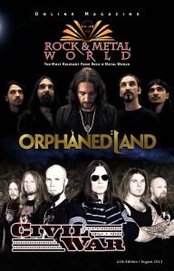 Rock & Metal World August 2013