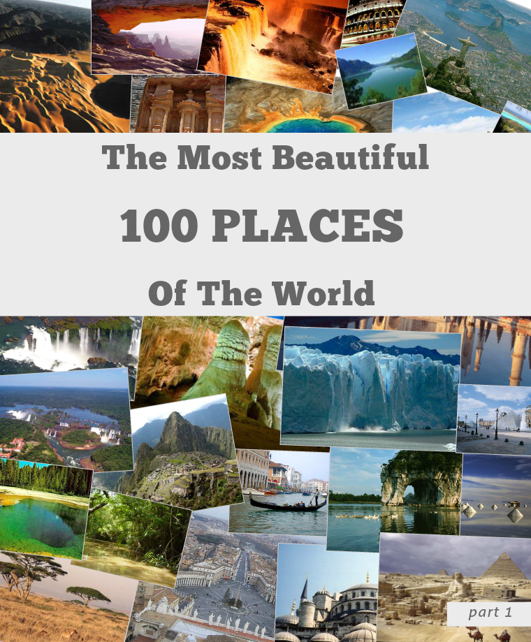 World Top 100 Beautiful Places v.1