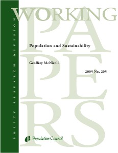 Population and Sustainability