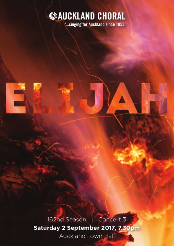 2017 Concert Series Elijah