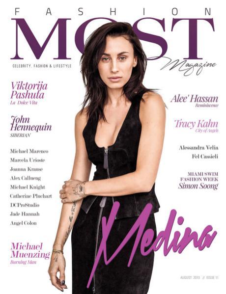 MOST Magazine Fashion AUG'15 ISSUE NO.11