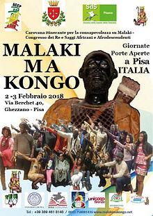 Malaki ma Kongo à Pisa