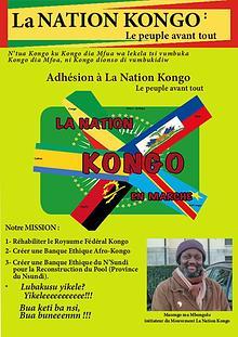 Adhésion à La Nation Kongo Le peuple avant tout