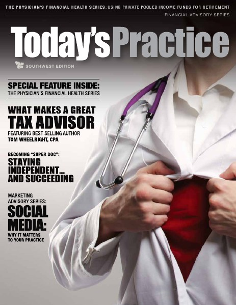 Today's Practice: Changing the Business of Medicine SW Edition Q1 2015