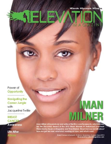 Women's Elevation Magazine October 2015