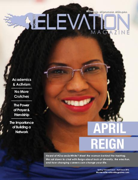Women's Elevation Magazine April 2016