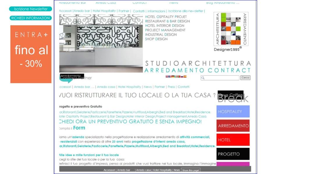 Nuovo sito Designer1995 per il design made in Italy Nuovo sito Designer1995 per il design made in Ital