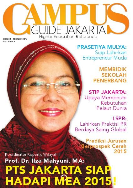 Campus Guide Jakarta - Edisi Perdana Febuary 2015