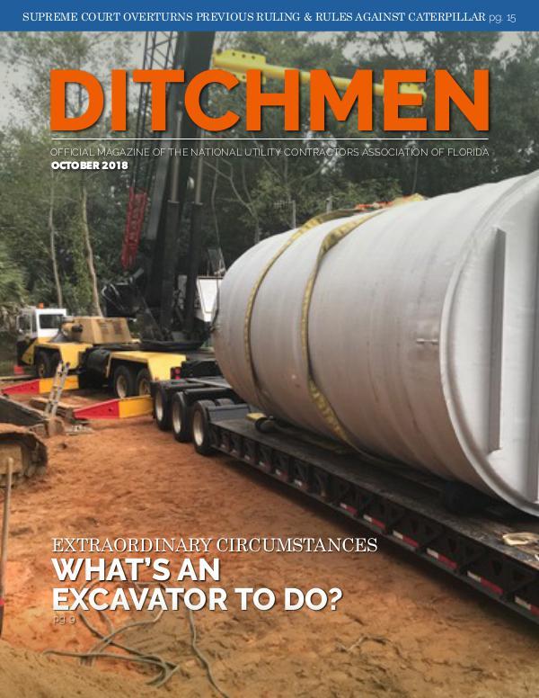 Ditchmen • NUCA of Florida October 2018