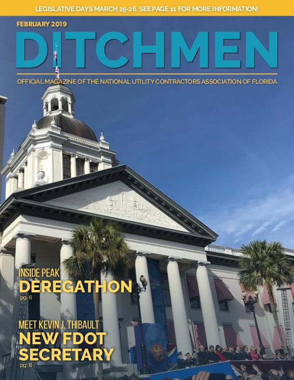 Ditchmen • NUCA of Florida February 2019