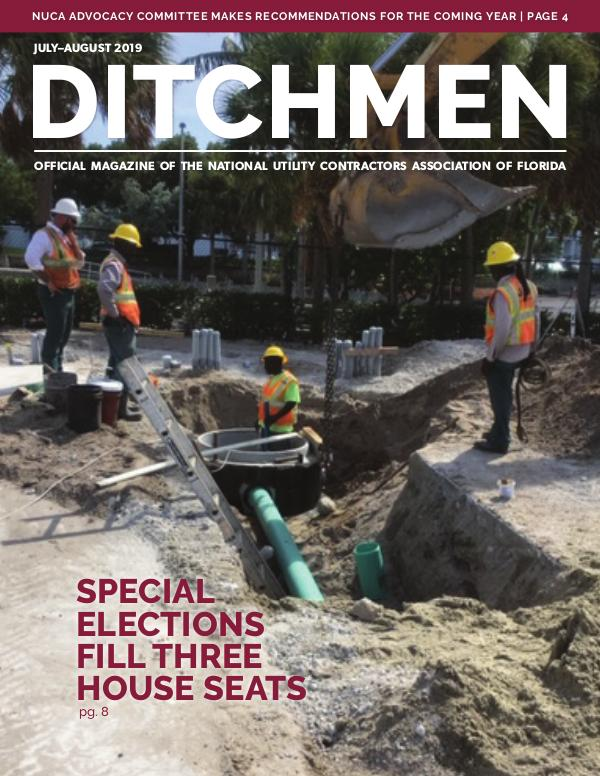 Ditchmen • NUCA of Florida July/August 2019