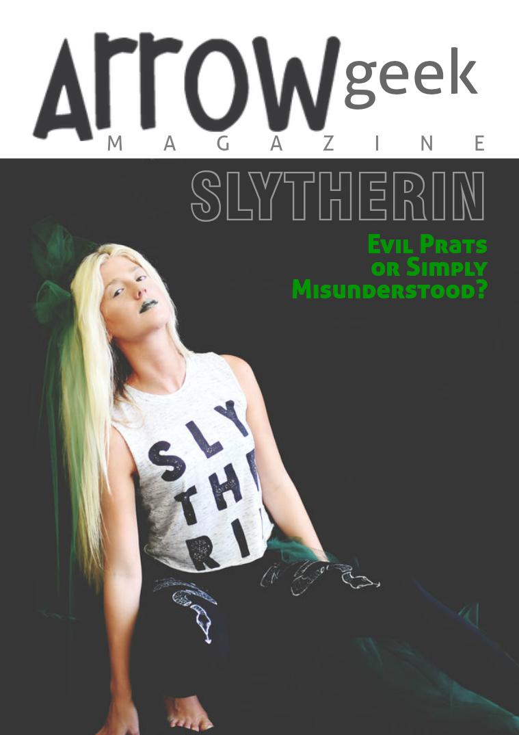 Arrow Geek Slytherin Fashion