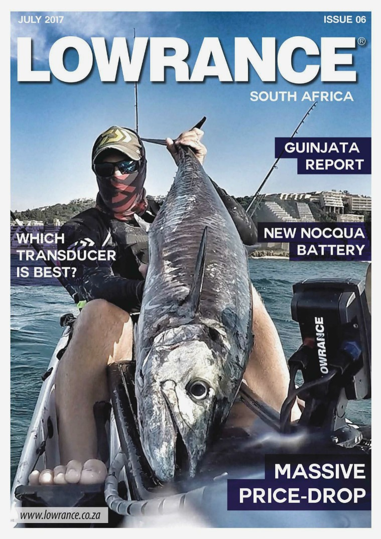 LOWRANCE SOUTH AFRICA Lowrance Issue 6