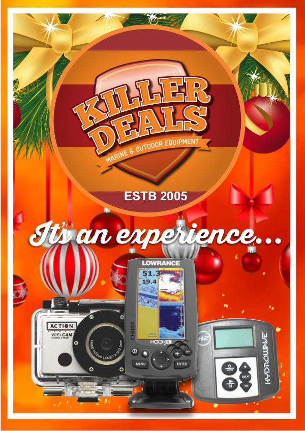 Killer Deals KILLER DEALS Christmas Issue