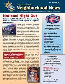 Laguna Niguel Neighborhood News July-September 2017
