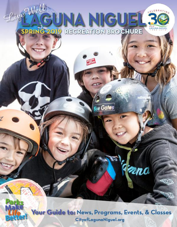 Spring 2019 Recreation Brochure