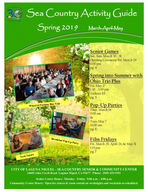 Sea Country Activity Guide - Spring 2019