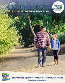 City of Laguna Niguel Recreation Brochure