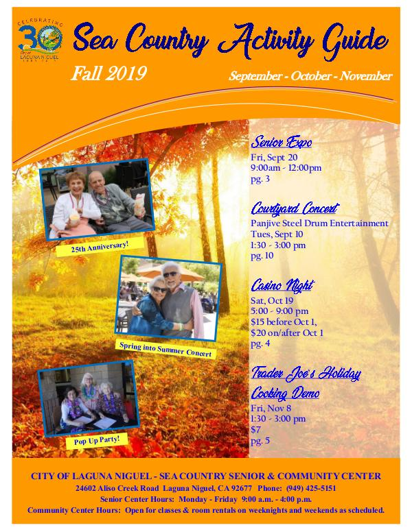 Sea Country Activity Guide - Fall 2019