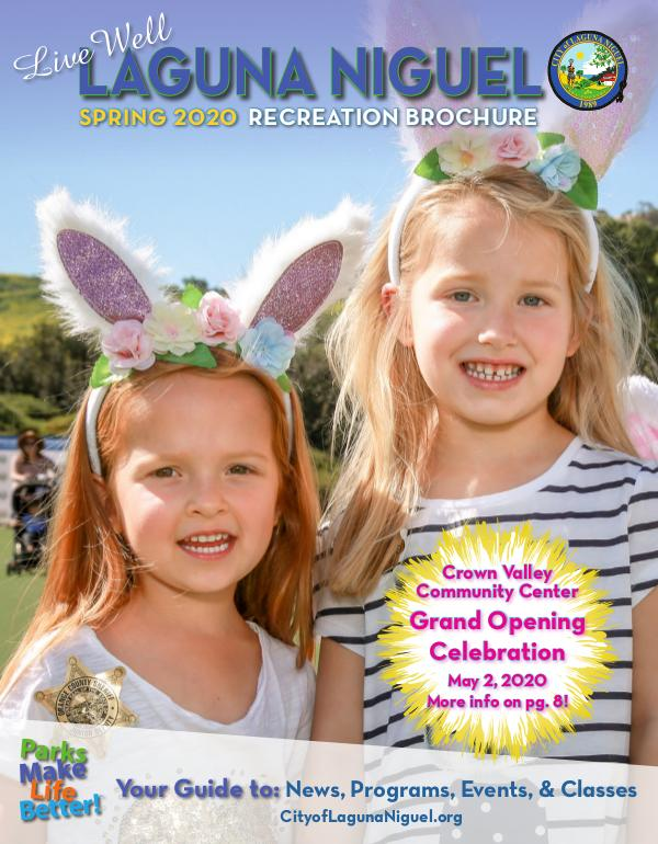 Spring 2020 Recreation Brochure