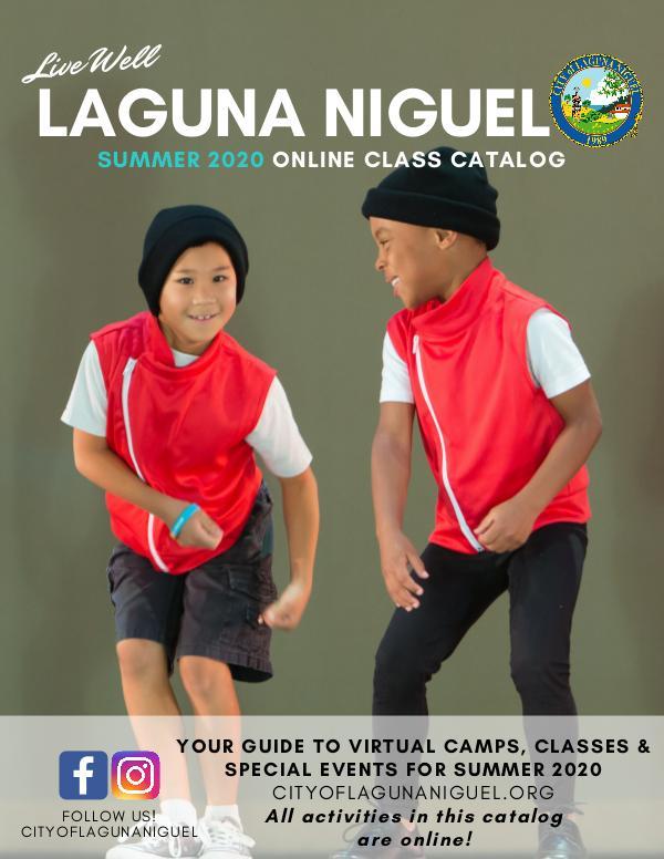 Summer 2020 Online Class Catalog