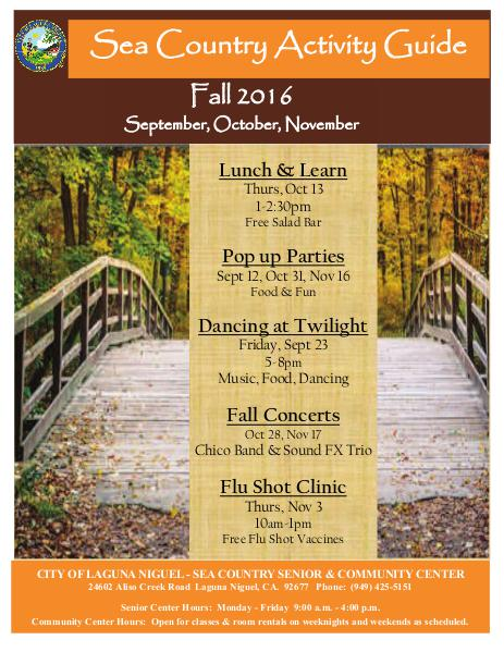 Sea Country Activity Guide Fall 2016
