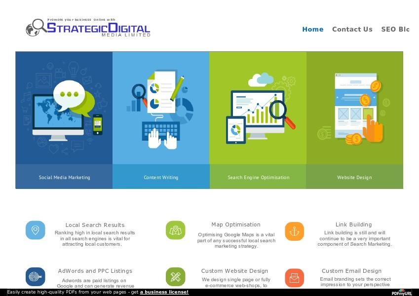 Strategic Digital Media 7 march 2015