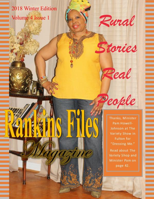 The Rankins Files Magazine Volume 4 Issue 1 Winter 2018