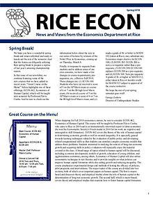 Rice Economics