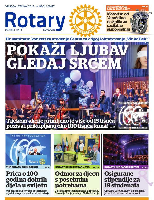 Rotari Magazin Rotary magazin - veljača, ožujak 2017