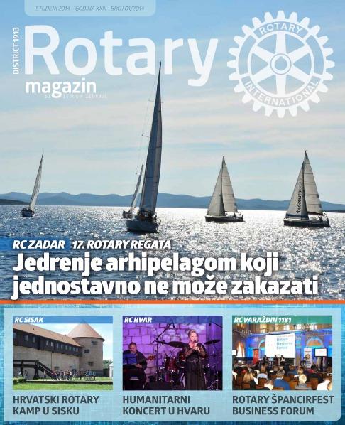 Rotari Magazin Rotary Magazin - listopad,studeni i prosinac 2014.