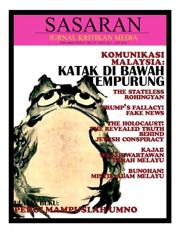 Sasaran 74th Edition SASARAN EDISI 74  (20FEB18)