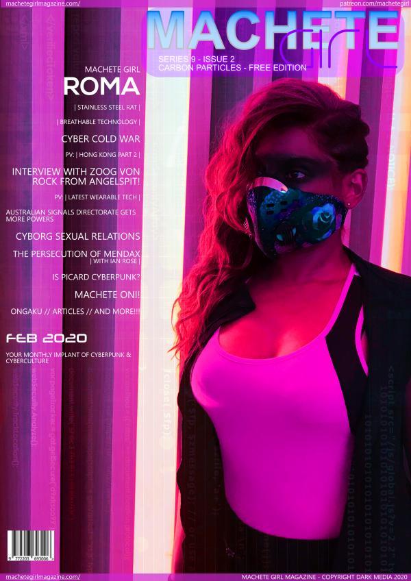Machete Girl Magazine 9.2 Carbon Particles Free Version