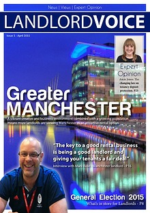 Landlord Voice Magazine April 2015 - Manchester
