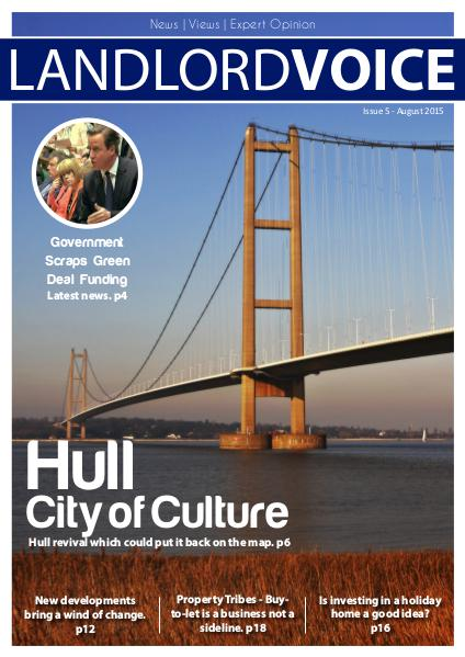 Landlord Voice Magazine August 2015 - Hull