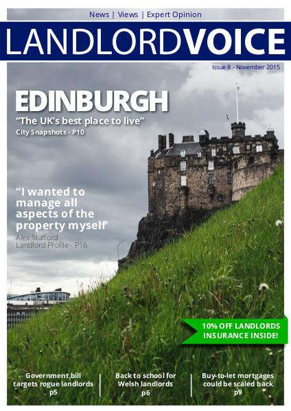 Landlord Voice Magazine November 2015 - Edinburgh