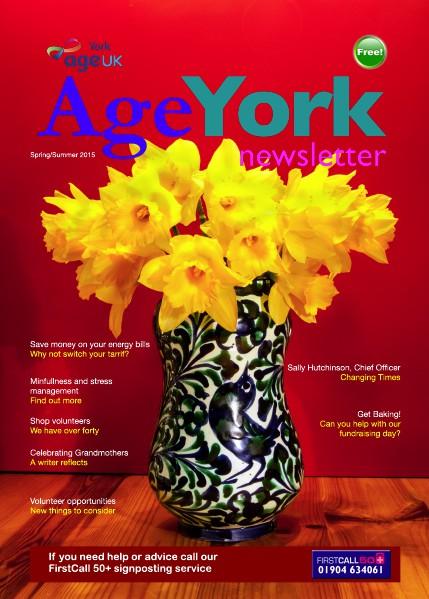 Age UK York Magazine Spring Summer 2015 March 2015