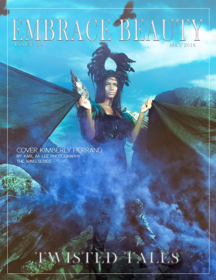 Embrace Beauty Magazine LLC issue 29  Twisted Tales