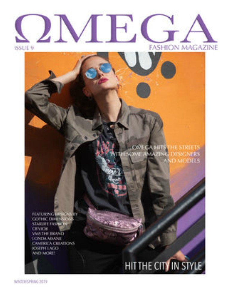 Omega Fashion Magazines Issue 8 Hit The City in Style(3rd cover)