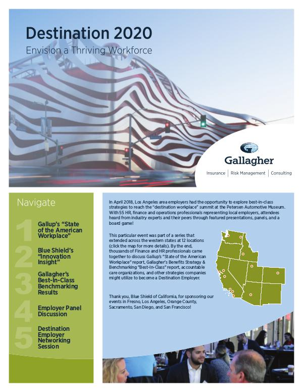 Gallagher's 2018 Seminar Series Los Angeles