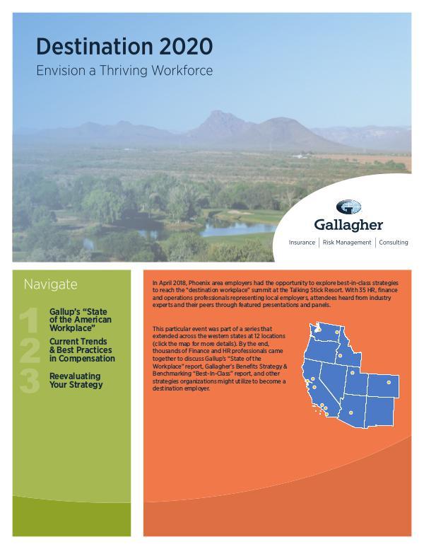 Gallagher's 2018 Seminar Series Phoenix