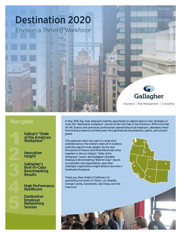 Gallagher's 2018 Seminar Series San Francisco