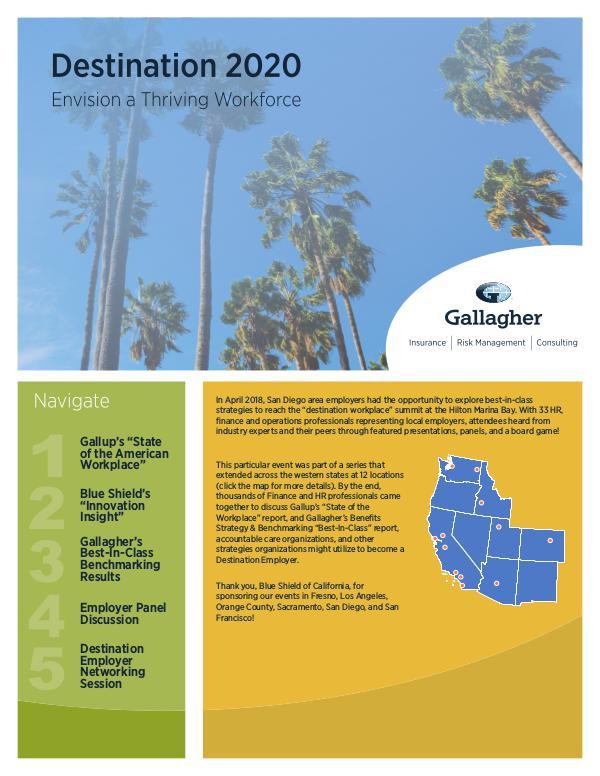 Gallagher's 2018 Seminar Series San Diego