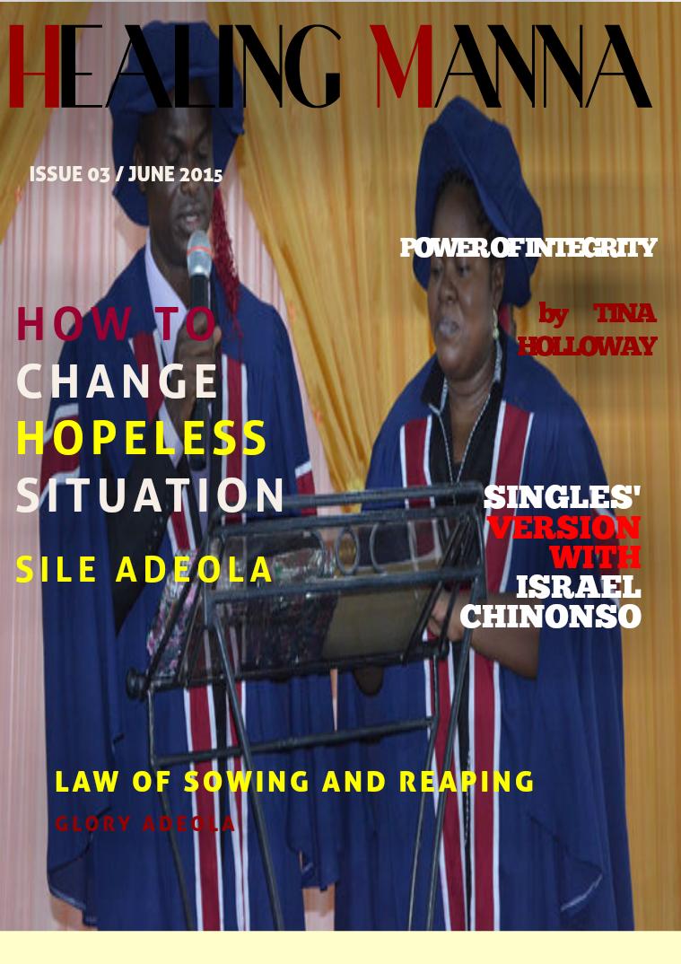 Healing Manna Magazine June 2015