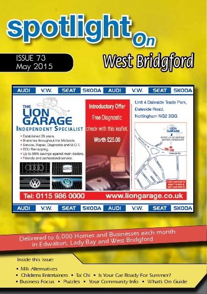 Spotlight Magazines Spotlight on West Bridgford May 2015
