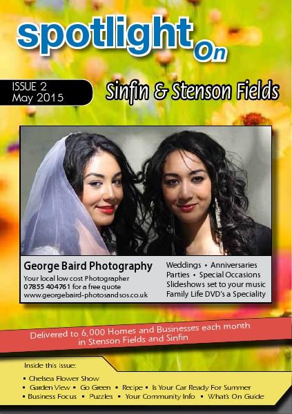 Spotlight Magazines Spotlight on Stenson Fields and Sinfin  May 2015