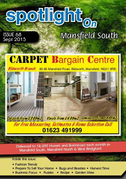 Spotlight Magazine for Mansfield North Sept 2015
