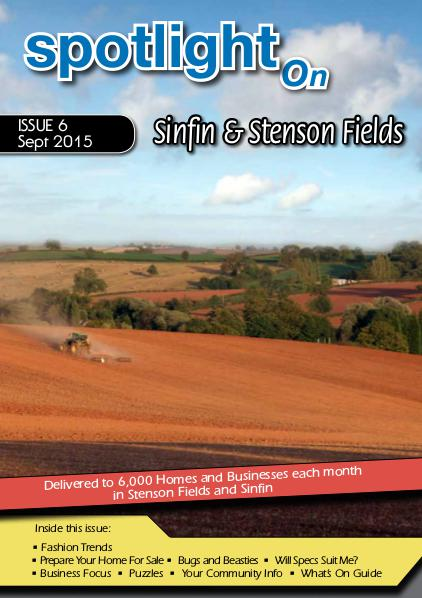 Spotlight Magazines Spotlight on  Sinfin and Stenson Fields Sept 2015